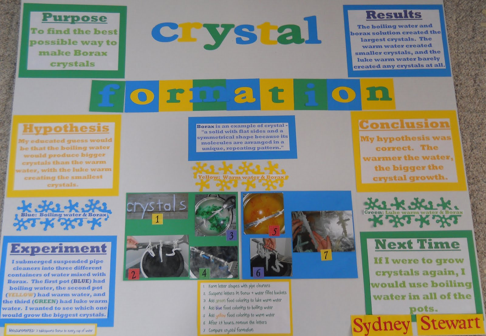 crystal science fair projects Are you on the hunt for science fair projects kids will love we've got you  covered these 20 science experiments are motivating and.