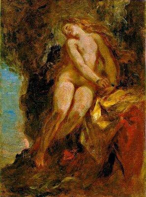 Andròmeda (Ferdinand-Victor-Eugène Delacroix)