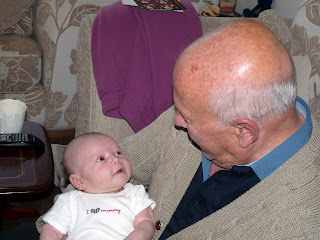 Freddie with Great Grandad