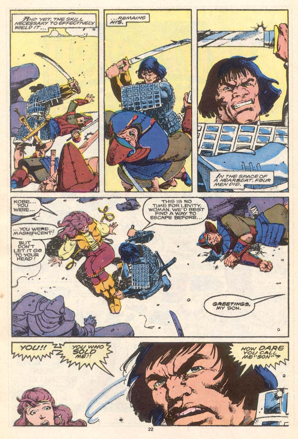 Conan the Barbarian (1970) Issue #206 #218 - English 19