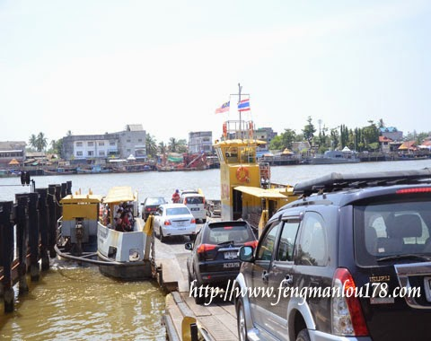 彭加兰古堡渡船