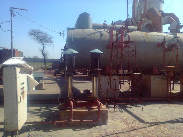 boiler feed water pump and boiler image