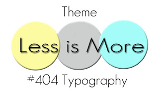 #404 - Typography 27/09