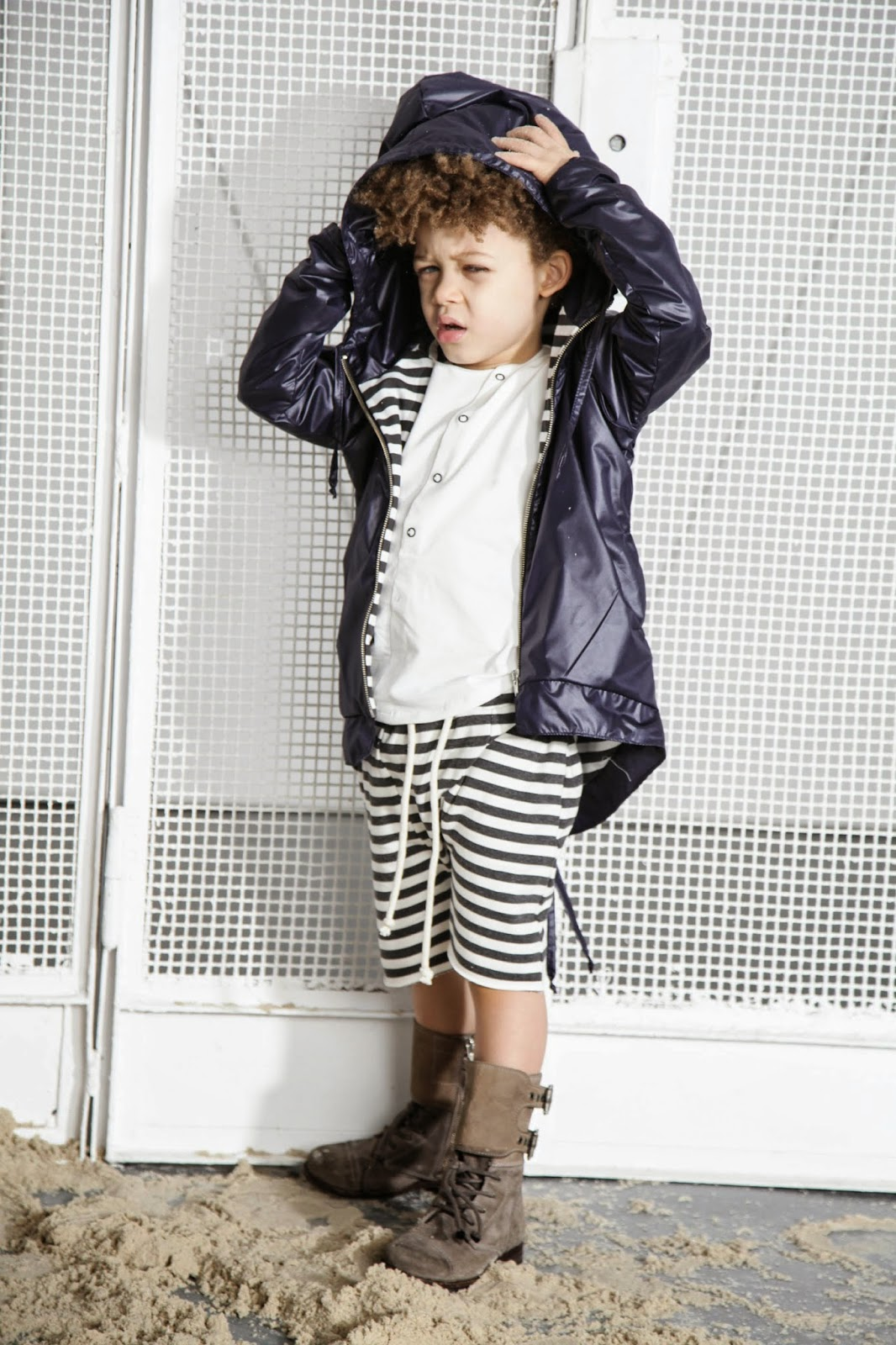 Kloo by Booso - Polish kids fashion spring-summer 2015 - mix of materials