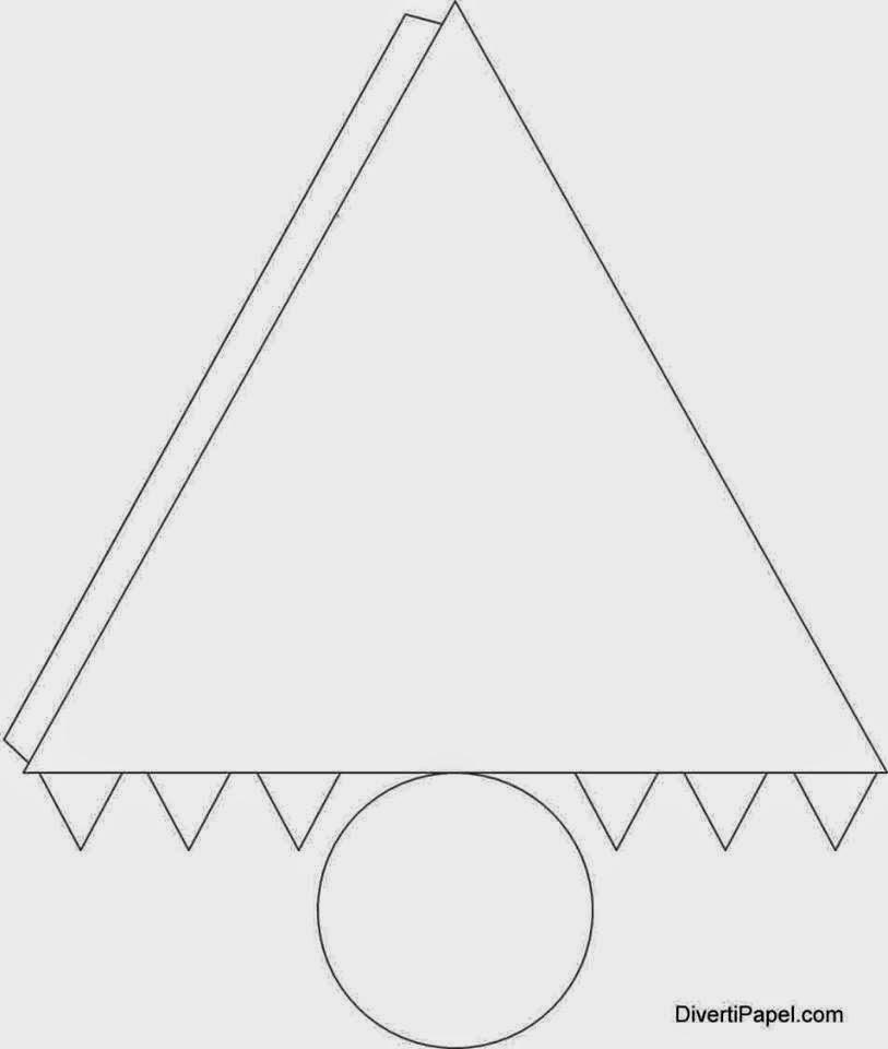 Crafty lucy y sus tips c mo hacer conitos usando una forma for Como puedo hacer un cono