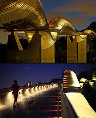 Inilah 7 Jembatan Paling<a href='http://zamrudhijau.blogspot.com/'> Unik</a> dan Kreatif di Dunia