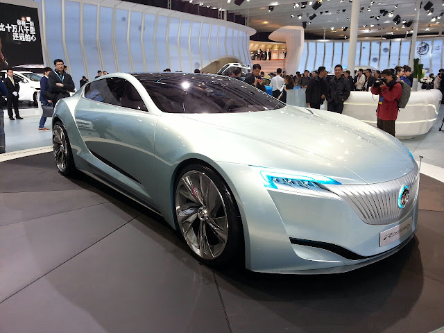 Car, Concept Car, Buick, riviera, price, spec, interior design, exterior design, shape like water, inspire by nature, cool design, awesome car, like water, shape