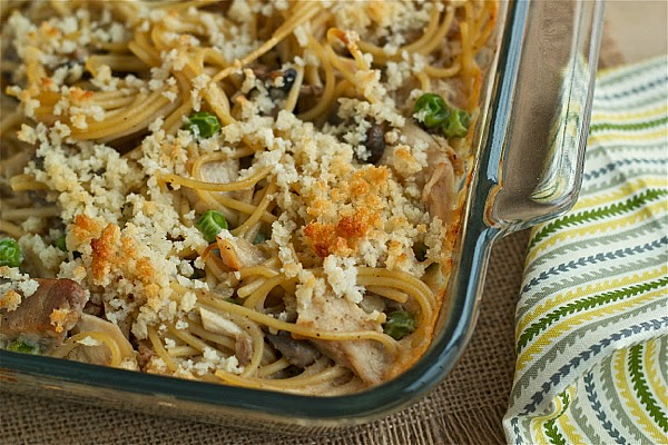 turkey tetrazzini with homemade condensed soup