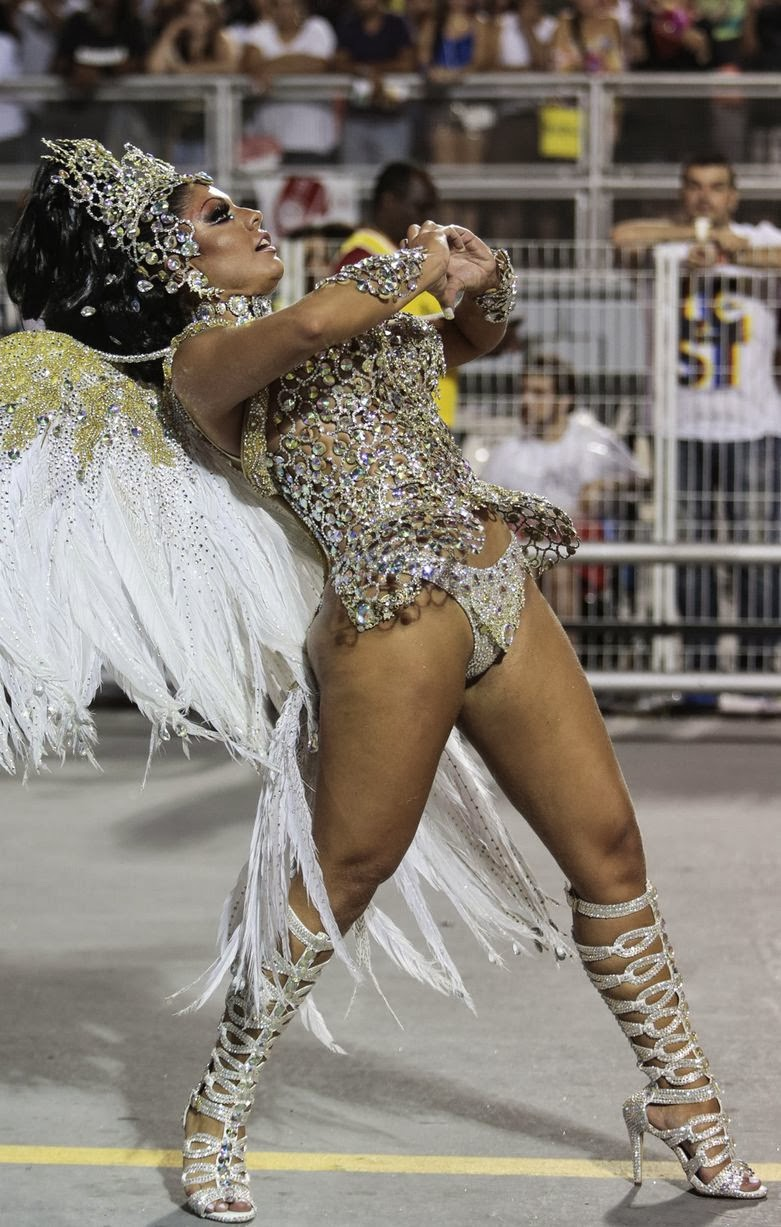 2015 Brazilian Carnival - Thousands gather for the annual