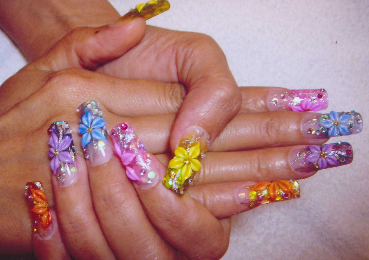 Nail Art Designs Crazy Nail Arts For Girls