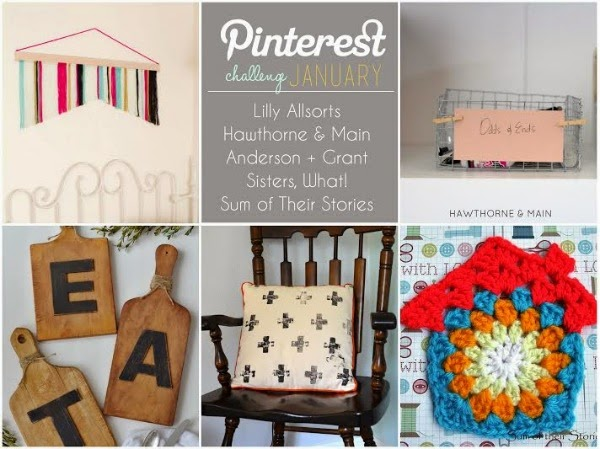 The 2015 Pinterest Challenge January