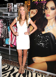Audrina Patridge at 2012 Magic Fashion Convention in Las Vegas