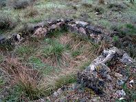 Possibles restes d'un antic dipòsit de la Barraca de Vinya del Faci