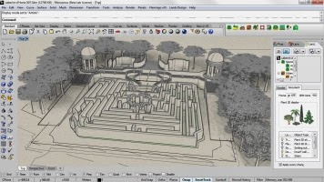 Ingenieria forestal software lands studio for Autoarq paisajismo