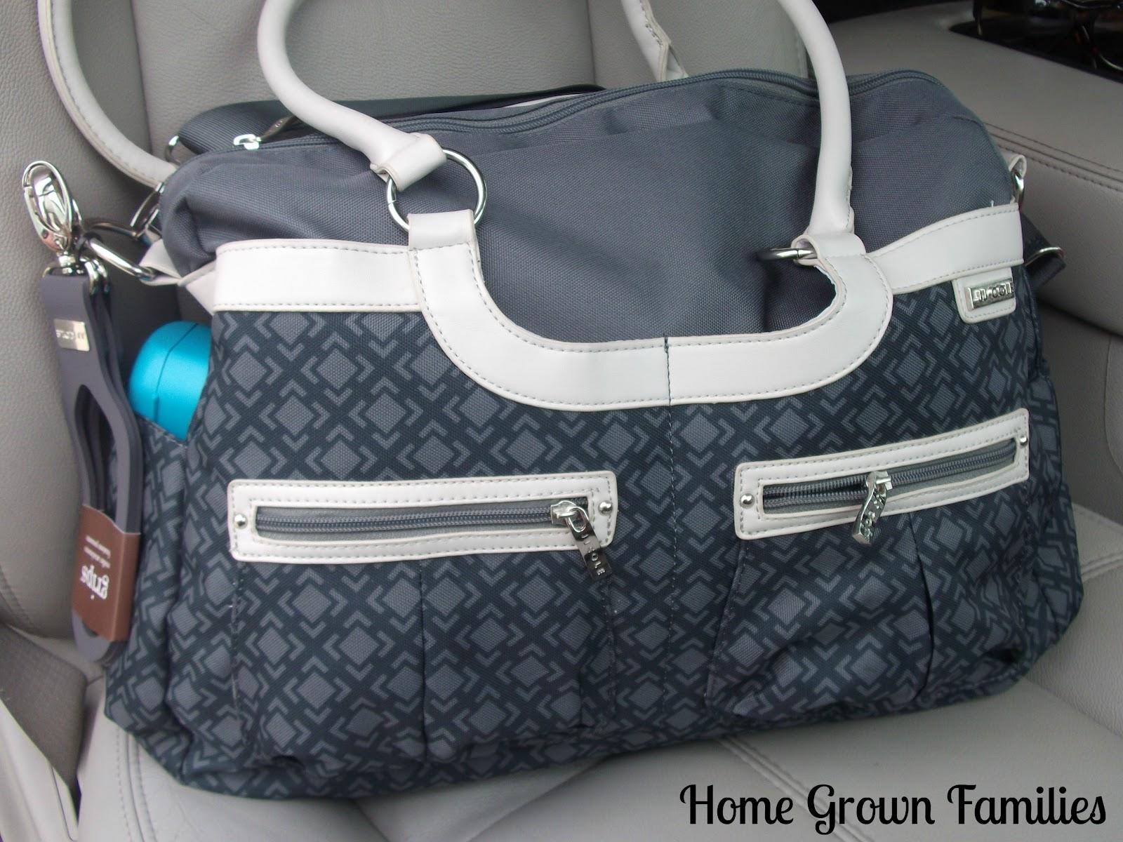 jj cole satchel diaper bag review and giveaway home. Black Bedroom Furniture Sets. Home Design Ideas