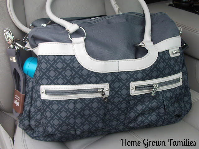 JJ Cole, diaper bag, Satchel bag, product review, giveaway
