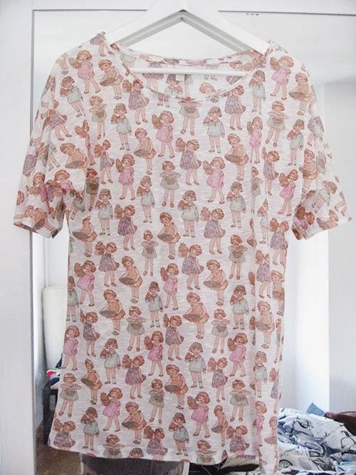 Camiseta Stradivarius, talla M