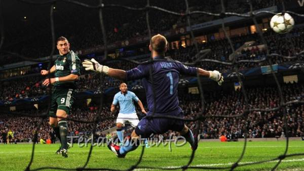 Hasil Manchester City VS Real Madrid