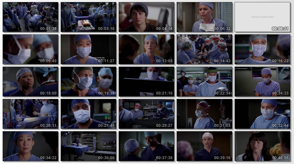 Movies, TV Series, Music: Grey\'s Anatomy Season 8 Episode 11