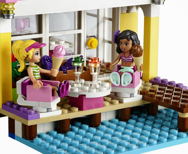 TOYS - LEGO Friends - 41037 La casa de la playa de Stephanie  Juguete oficial Lego | Stephanie's Beach House | A partir de 6 años