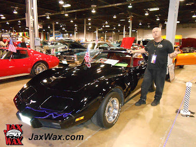 1977 Corvette Jax Wax Chicago World of Wheels 