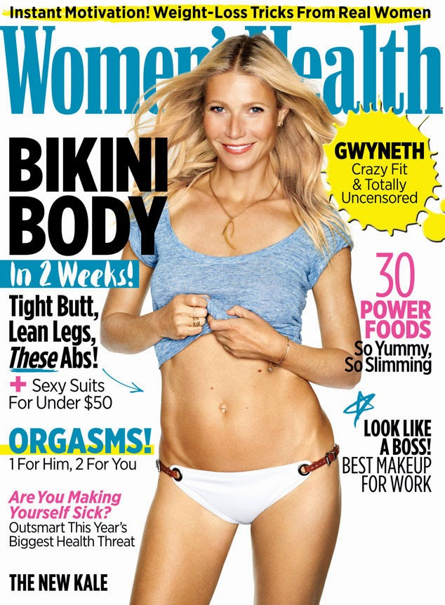 Actress, Singer @ Gwyneth Paltrow - Women's Health June 2015