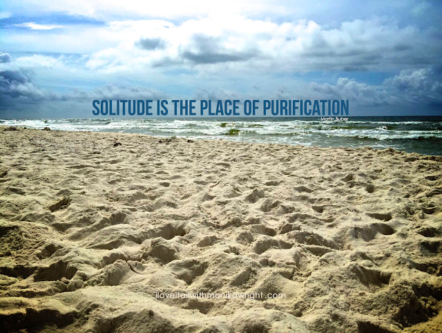 #quotes #beach #solitude #sand #inspirational #purification #quote #words #sayings