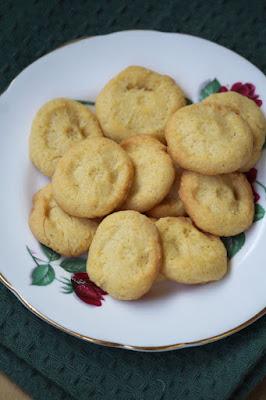 Ciasteczka z mąką kukurydzianą