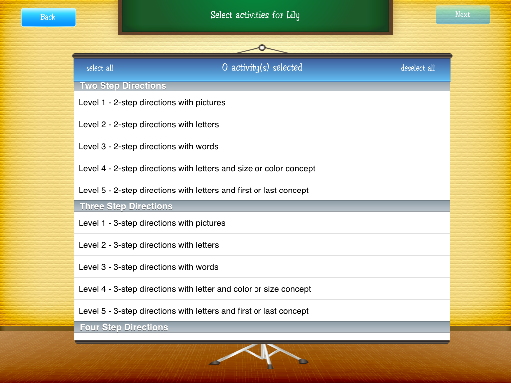 School Of MultiStep Directions App Review