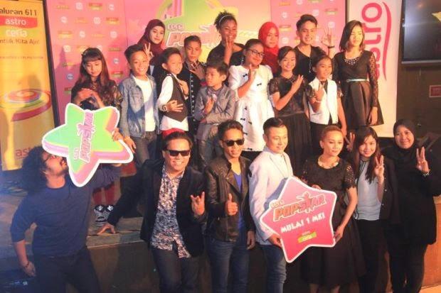Peserta Sabah Dominasi Ceria Pop Star Musim Ketiga