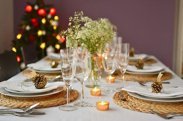 La chica de la casa de caramelo decorando nuestra mesa for Como decorar la mesa para navidad
