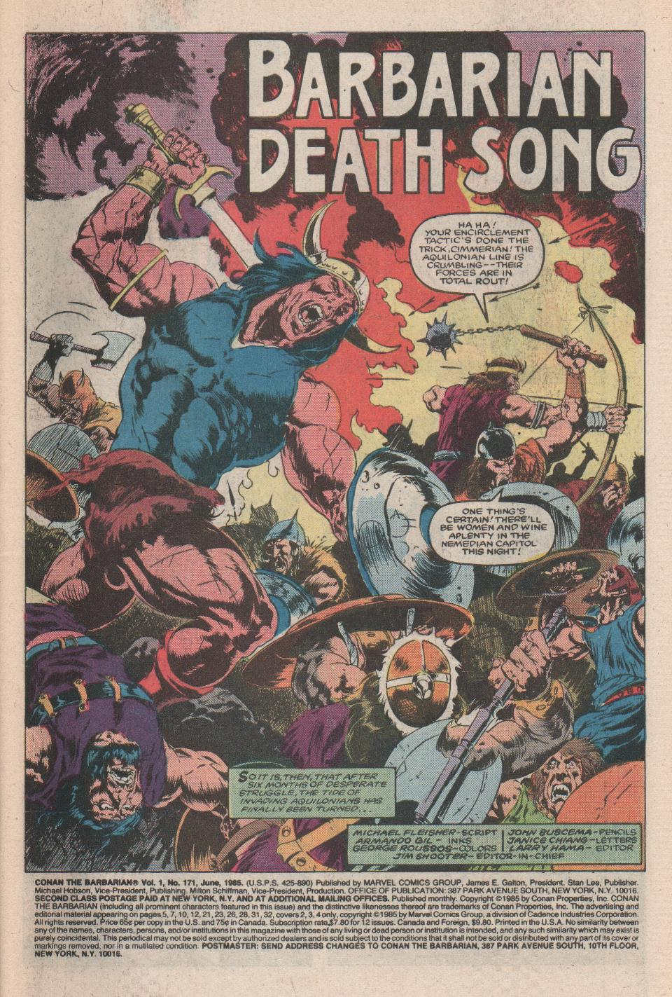 Conan the Barbarian (1970) Issue #171 #183 - English 2