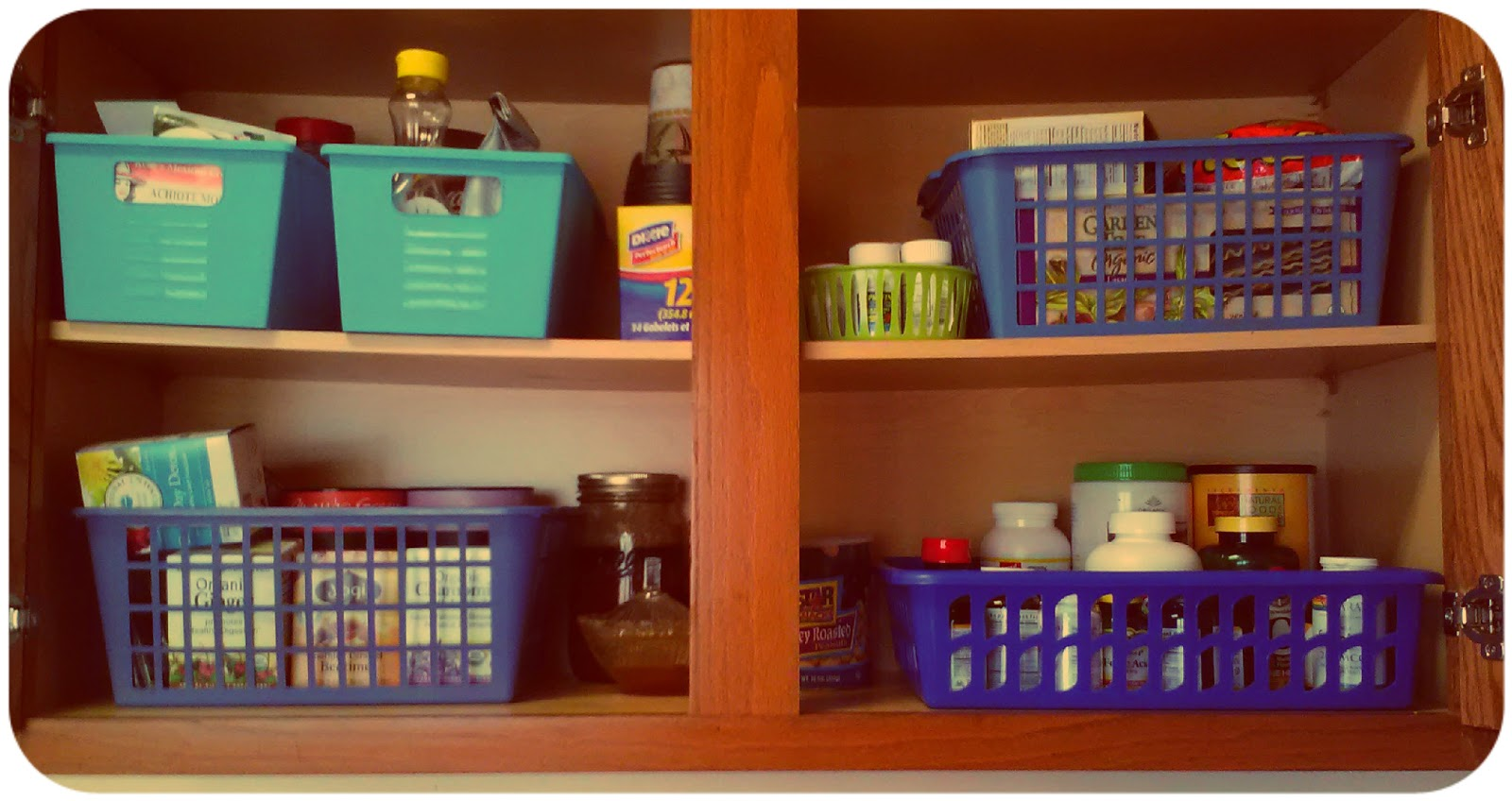 Maria's Self *: My Dollar Store Kitchen: Organization, Decoration