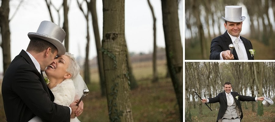 Portrait session autunnale nel bosco