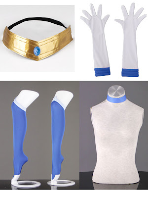 Sailor Mercury Mizuno Ami Cosplay Costume