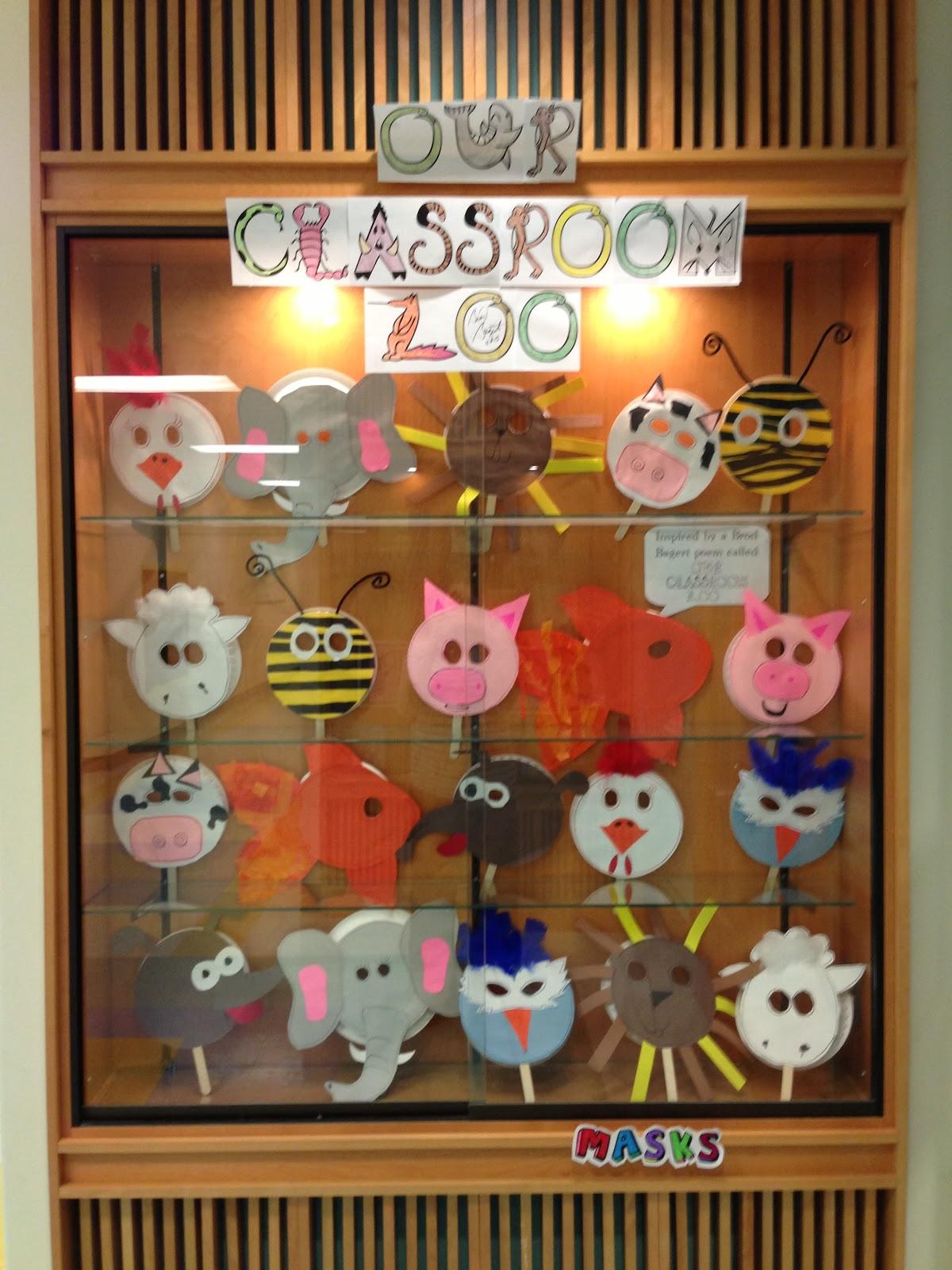 Classroom Zoo Ideas ~ Apex elementary art oink moo buzz ruff