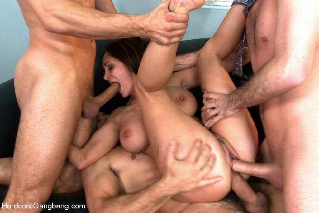 групповое порно с ава адамс фото
