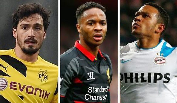 Man Utd Transfer News: Hummels, Sterling and Depay on radar