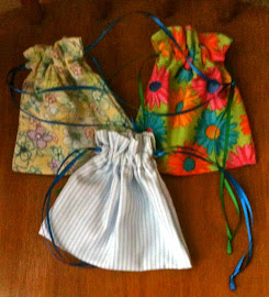 Drawstring Jewelry Sacks