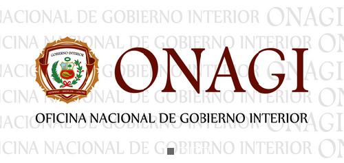 Oficina nacional de gobierno interior onagi en san isidro for Ministerio del interior peru