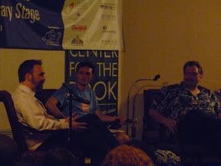 Jeff Hirsch and Jonathon Maberry at Decatur Book Festival