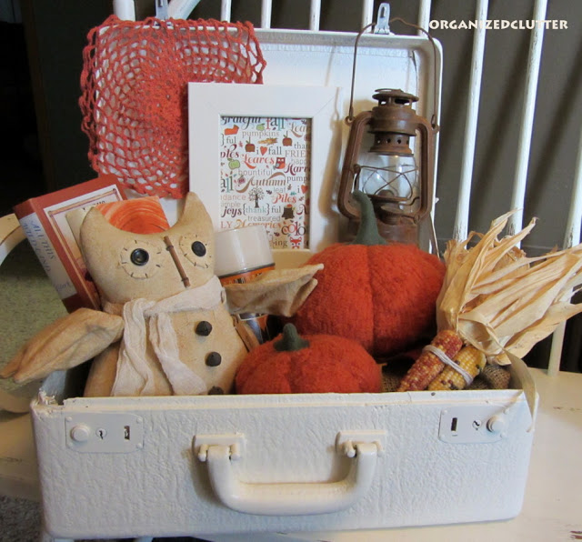 Fall Suitcase Vignette