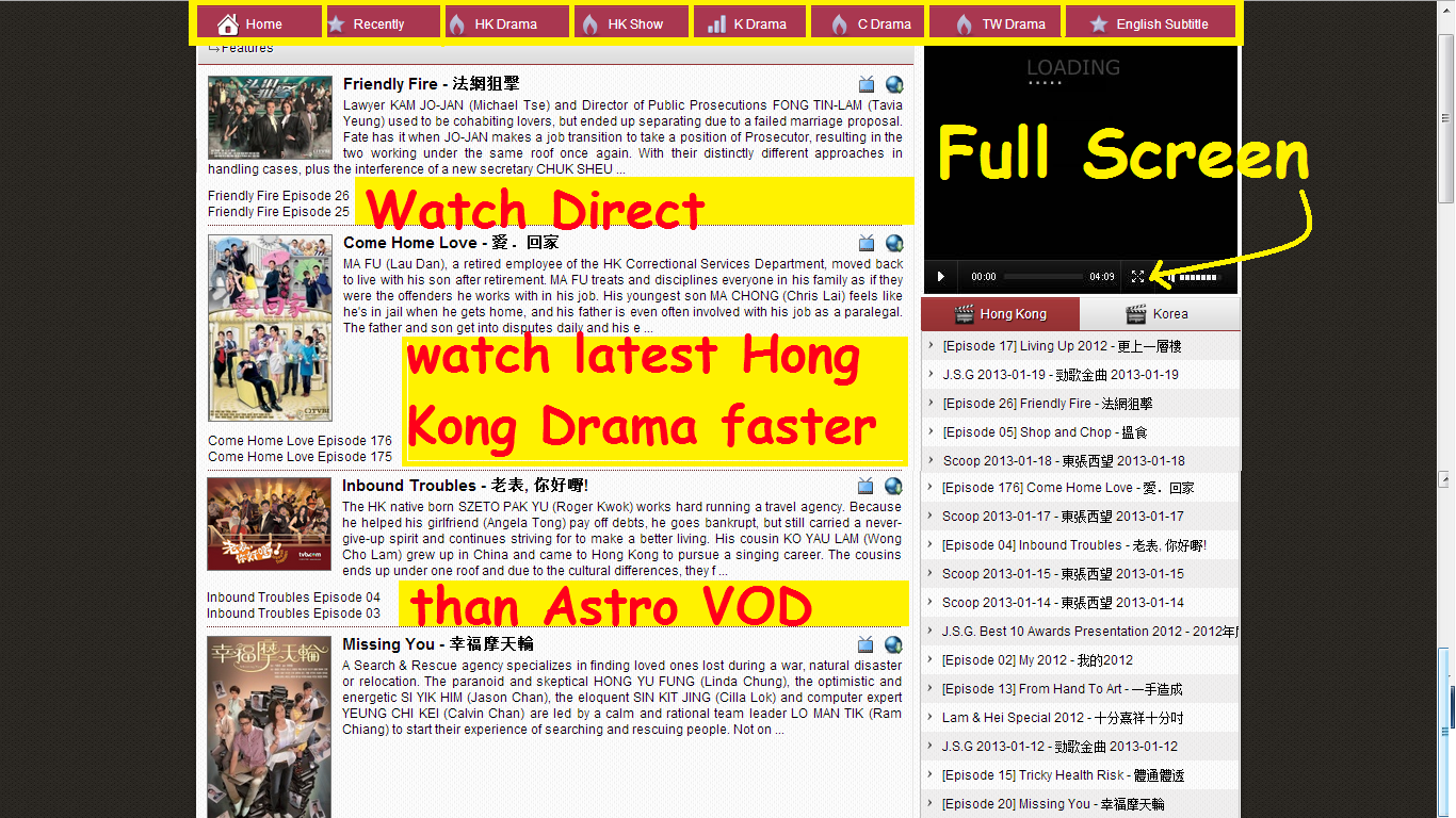 Watch Recent Hong Kong Dramas http://jimat-minyak99.blogspot.com/2013