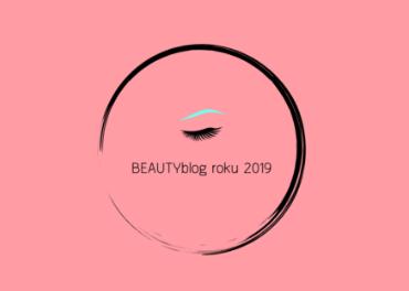 BEAUTYblog roku 2019 - hlasuj pro mě v soutěži