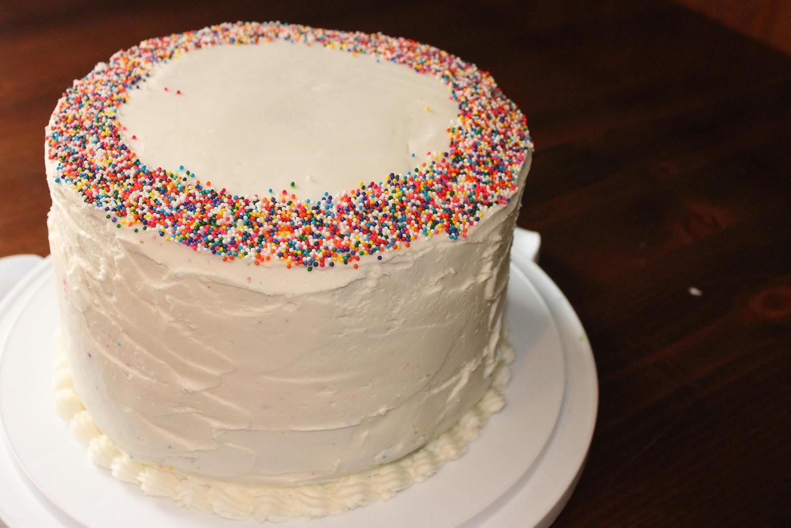 Lilyquilt Birthday Boy Rainbow Cake