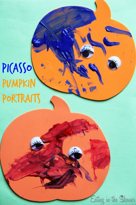 painted pumpkins kid craft