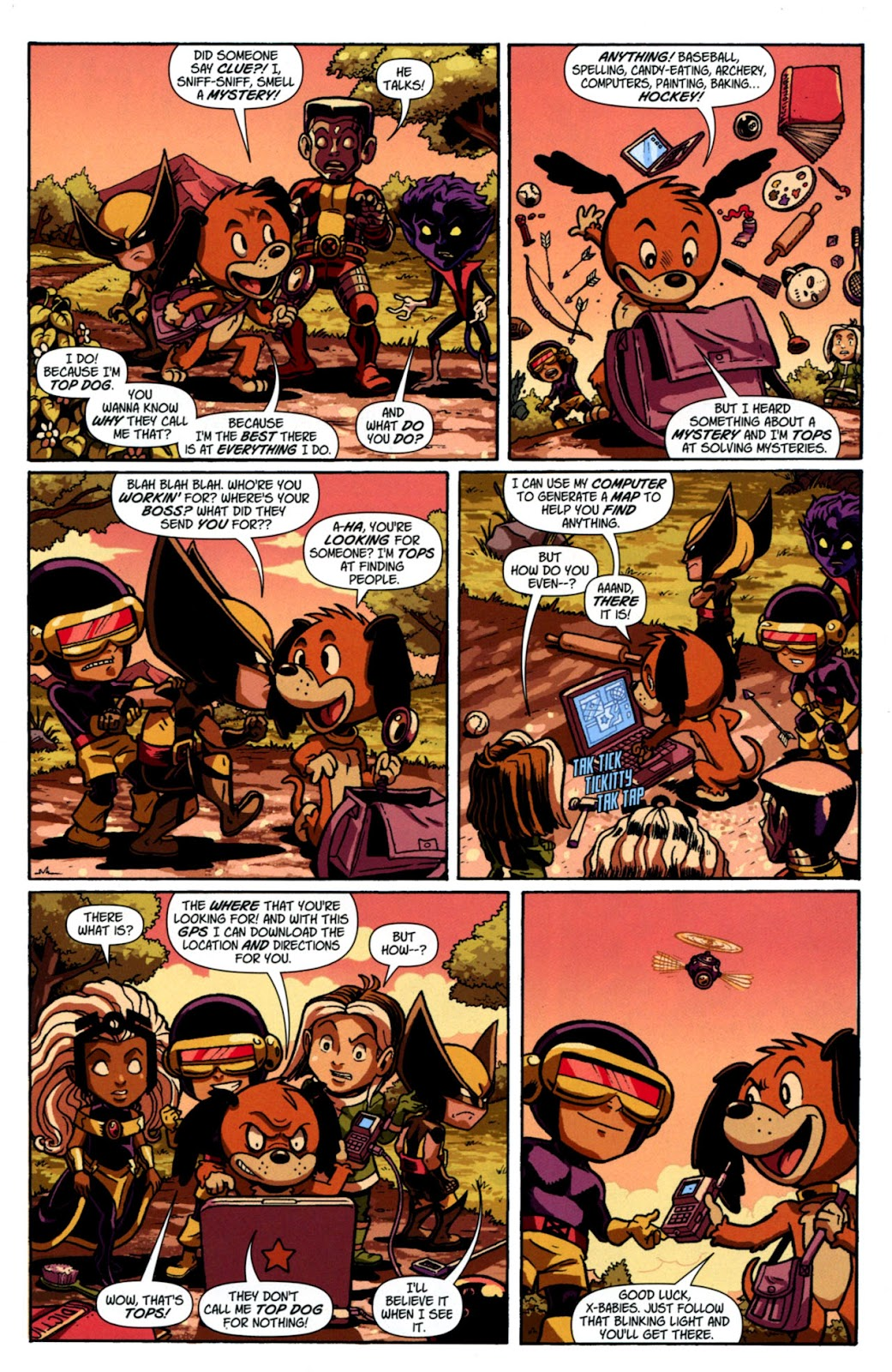 Read online X-Babies comic -  Issue #3 - 6
