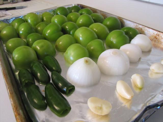 Pork Verde w/Roasted Tomatillo Salsa ~ Faithfulness Farm
