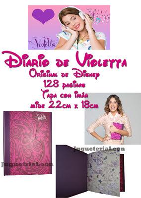 Diario de Violetta Violeta - Original de Disney !!!