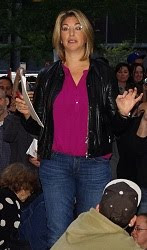 Naomi Klein at Occupy Wall Street, 2011.